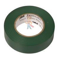 Изолента самослипающаяся силиконовая Scotch® 70, рулон 25 мм х 9 м - ПВХ изолента универсальная зеленая, 15 мм x 10 м