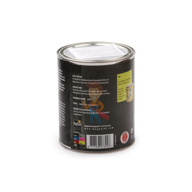 Грифельная краска MagPaint 1 литр, на 5 м² - фото 1