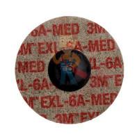 Круг для очистки поверхности CG-DС, S XCS, голубой, 100 мм х 13 мм, 2 шт/уп. - Шлифовальный круг Scotch-Brite™ Roloc™ XL-UR, 6A MED, 75 мм, 17191