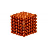 Forceberg Cube - куб из магнитных шариков 5 мм, стальной, 216 элементов - Forceberg Cube - куб из магнитных шариков 6 мм, оранжевый, 216 элементов