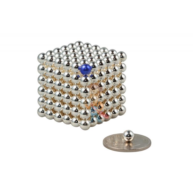 Forceberg Cube - куб из магнитных шариков 5 мм, стальной, 216 элементов - фото 1