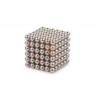 Forceberg Cube - куб из магнитных шариков 6 мм, оливковый, 216 элементов - Forceberg Cube - куб из магнитных шариков 5 мм, стальной, 216 элементов