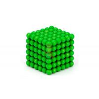 Forceberg TetraCube - куб из магнитных кубиков 5 мм, стальной, 216 элементов - Forceberg Cube - куб из магнитных шариков 5 мм, светящийся в темноте, 216 элементов