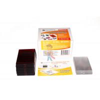 Декоративный термометр - Акриловая заготовка для магнита Forceberg 52х77 мм, красная, 10 шт.