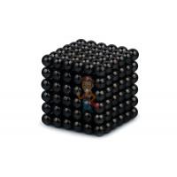 Forceberg Cube - куб из магнитных шариков 5 мм, стальной, 216 элементов - Forceberg Cube - куб из магнитных шариков 6 мм, черный, 216 элементов