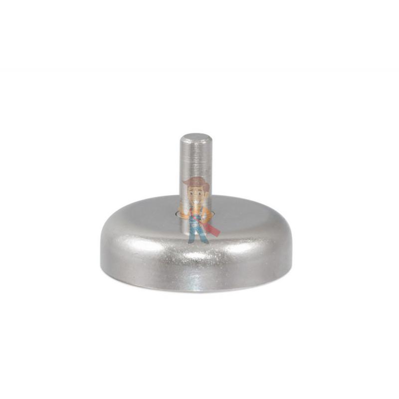 Магнитное крепление D20 со стержнем - подставка на магните для топпера, ценников, рамок, плакатов