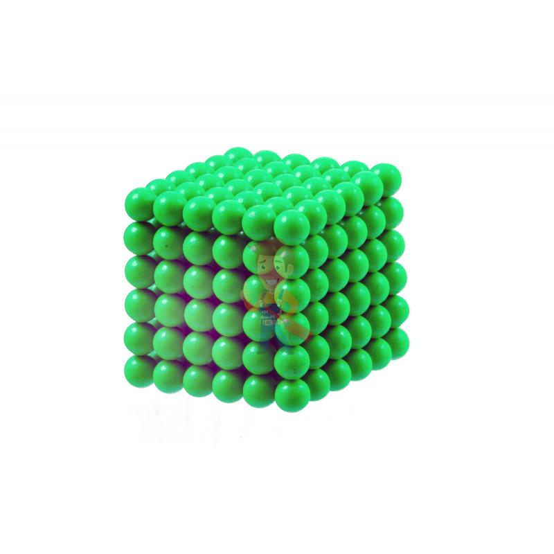 Forceberg Cube - куб из магнитных шариков 6 мм, светящийся в темноте, 216 элементов