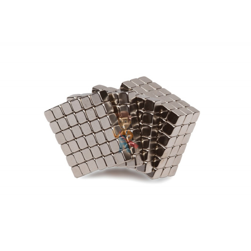 Forceberg TetraCube - куб из магнитных кубиков 6 мм, стальной, 216 элементов - фото 1