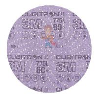 Круг Шлифовальный, 80+, 125 мм, Клин Сэндинг, 3M Cubitron II Hookit 775L 10 шт./уп. - Шлифовальный круг Клин Сэндинг, 80+, 150 мм, Cubitron™ II, Hookit™ 775L, 5 шт./уп.