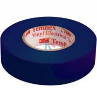 Изолента ПВХ Морозостойкая высшего класса, рулон 25 мм х 33 м - ПВХ изолента универсальная, синяя, 19 мм x 20 м
