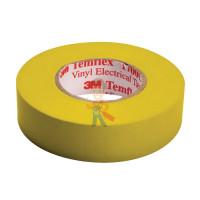 Изолента ПВХ Морозостойкая высшего класса, рулон 25 мм х 33 м - ПВХ изолента универсальная, желтая, 19 мм x 20 м