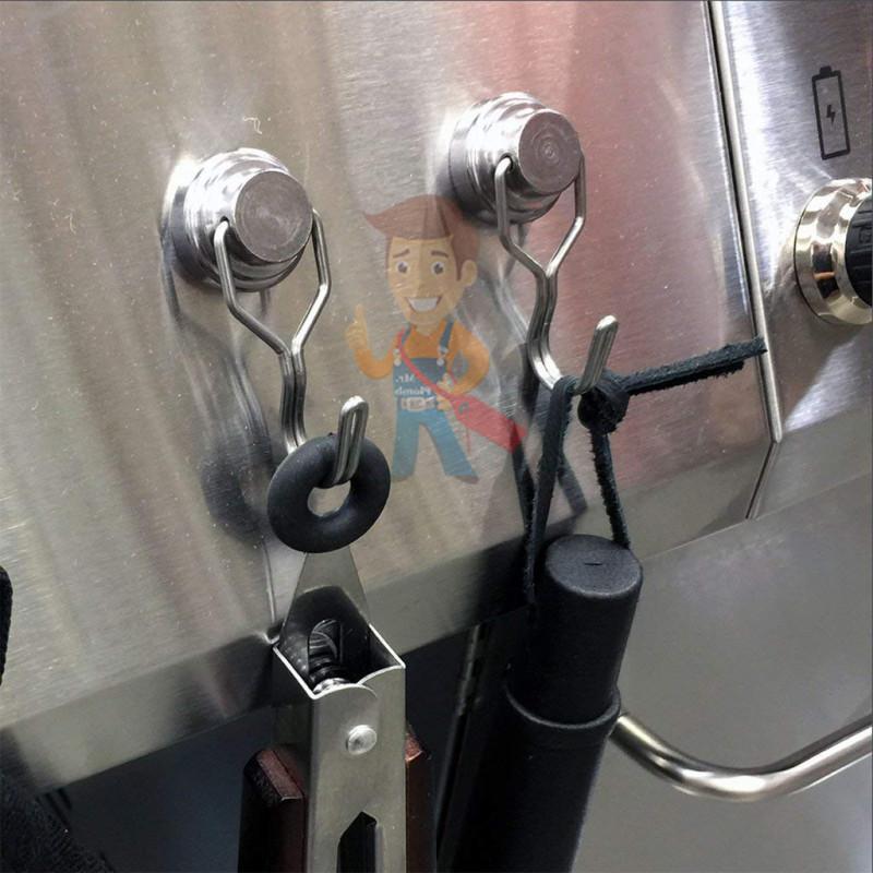 Магнитное крепление с поворотным крючком 32 мм - фото 8