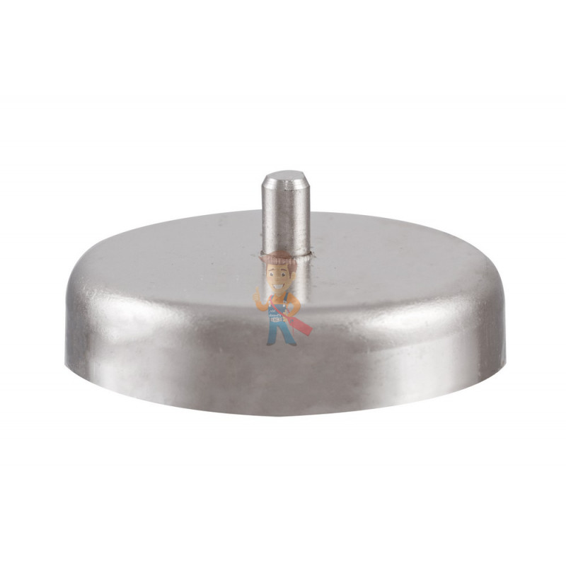 Магнитное крепление D48 со стержнем - подставка на магните для топпера, ценников, рамок, плакатов
