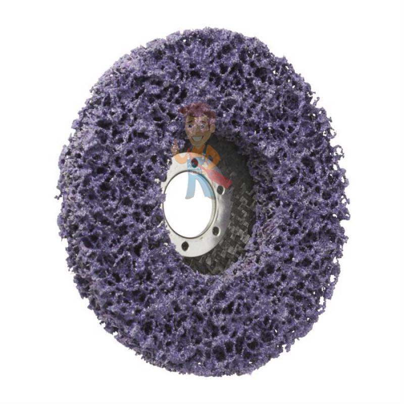 Круг для очистки поверхности XT-RD, S XCS, фиолетовый, 115 мм х 22 мм (замена 51889) - фото 3