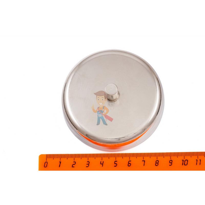 Магнитное крепление D60 со стержнем - подставка на магните для топпера, ценников, рамок, плакатов - фото 2