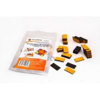 Магнитные виниловые наклейки Forceberg 1.3х2.5 см, 50 шт - Магнитные виниловые наклейки Forceberg 1.3х2.5 см, 50 шт