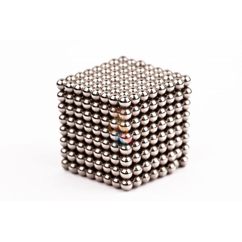 Forceberg Cube - куб из магнитных шариков 2,5 мм, стальной, 512 элементов