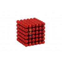 Forceberg Cube - куб из магнитных шариков 5 мм, золотой, 216 элементов - Forceberg Cube - куб из магнитных шариков 5 мм, красный, 216 элементов