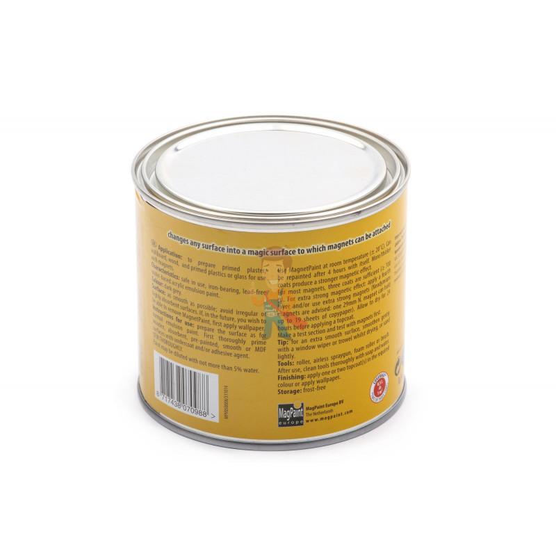 Магнитная краска MagPaint 0,5 литра, на 1 м² - фото 1