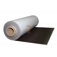 Магнитные виниловые наклейки Forceberg 5х9 см, 20 шт - Магнитный винил с ПВХ слоем, рулон 0.62х30 м, толщина 0.4 мм