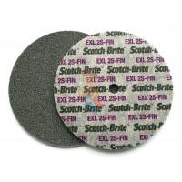 Лист шлифовальный для удаления сильных загрязнений A MED коричневый 158 мм х 224 мм - Шлифовальный круг Scotch-Brite™ XL-UW, 2S FIN, 150 мм х 6 мм х 13 мм, 13741