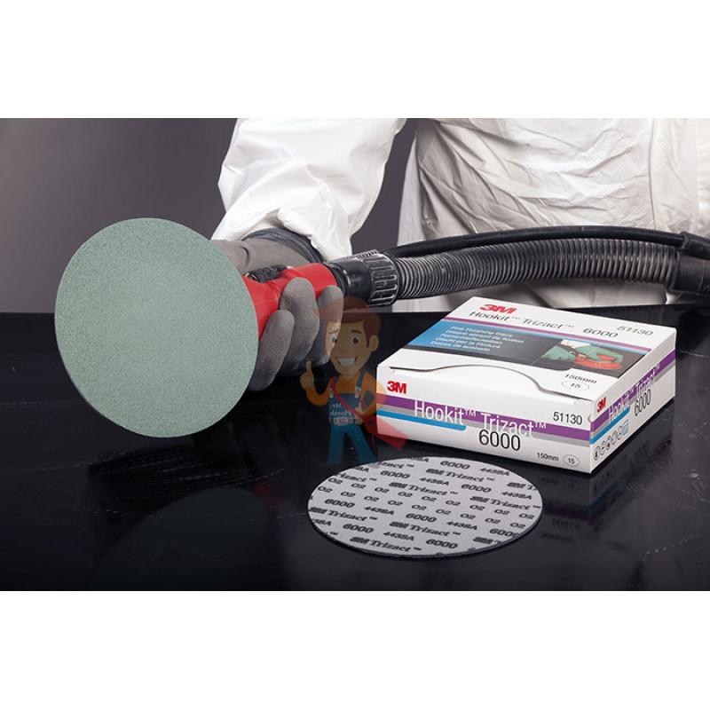 Круг полировальный Trizact™, Р6000, 150 мм. - фото 1