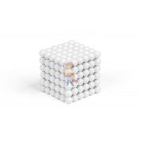 Forceberg Cube - куб из магнитных шариков 5 мм, стальной, 216 элементов - Forceberg Cube - куб из магнитных шариков 5 мм, белый, 216 элементов