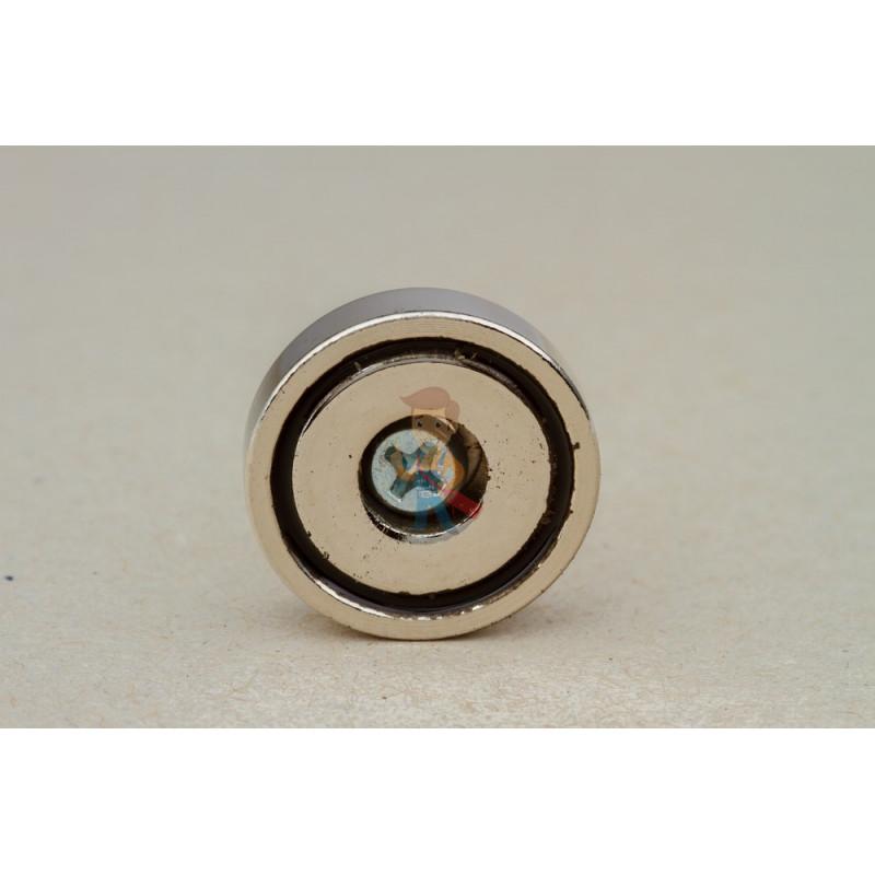 Магнитное крепление с отверстием В25 - фото 5