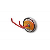 Крючок на неодимовом магните Forceberg Е42, сила сц. 60 кг - V-образный магнитный держатель, Forceberg