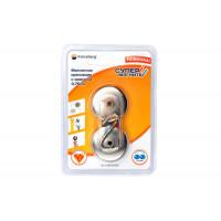 Гайка М6 шестигранная оцинкованная ГОСТ 5915-70 (DIN 934) Forceberg Home&DIY, 30 шт - Магнитное крепление с крючком Forceberg 3,75 см, 2 шт