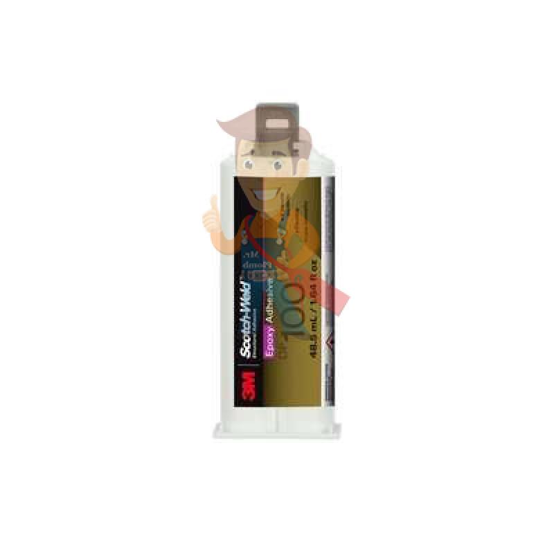 Клей эпоксидный двухкомпонентный, прозрачный, 48,5 мл 3M Scotch-Weld DP100 PLUS