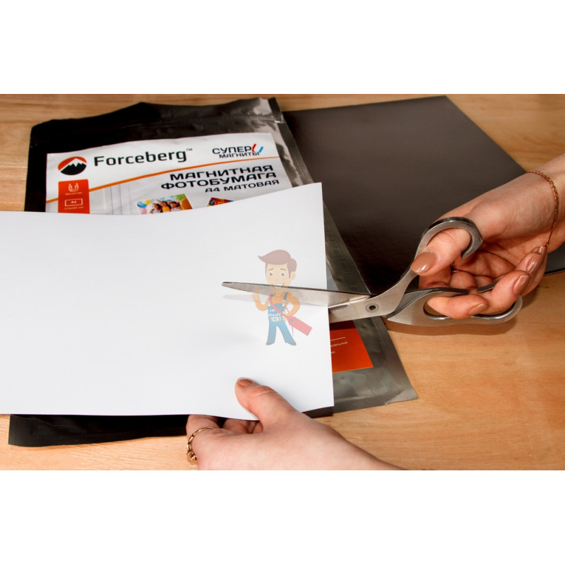Магнитная бумага А4 матовая Forceberg 5 листов - фото 6