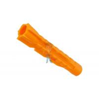 Дюбель распорный Forceberg Home&DIY (тип S) 6х30 мм, для кирпича, бетона, 40 шт - Дюбель универсальный Forceberg Home&DIY (тип U) 6х37 мм, для кирпича, газобетона, гипсокартона, 35 шт