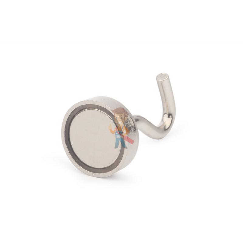 Крючки на неодимовом магните Е20 (М4), сила сц. 8 кг, 4 шт. - фото 1