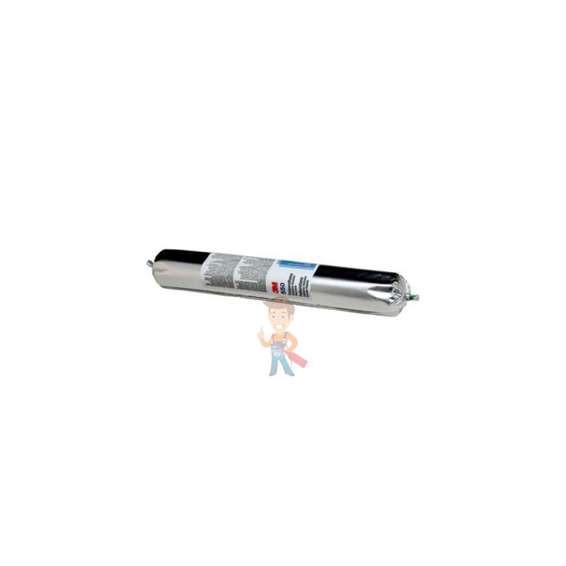 Клей-герметик полиуретановый 3M 550FC, однокомпонентный, серый, 600 мл - фото 1