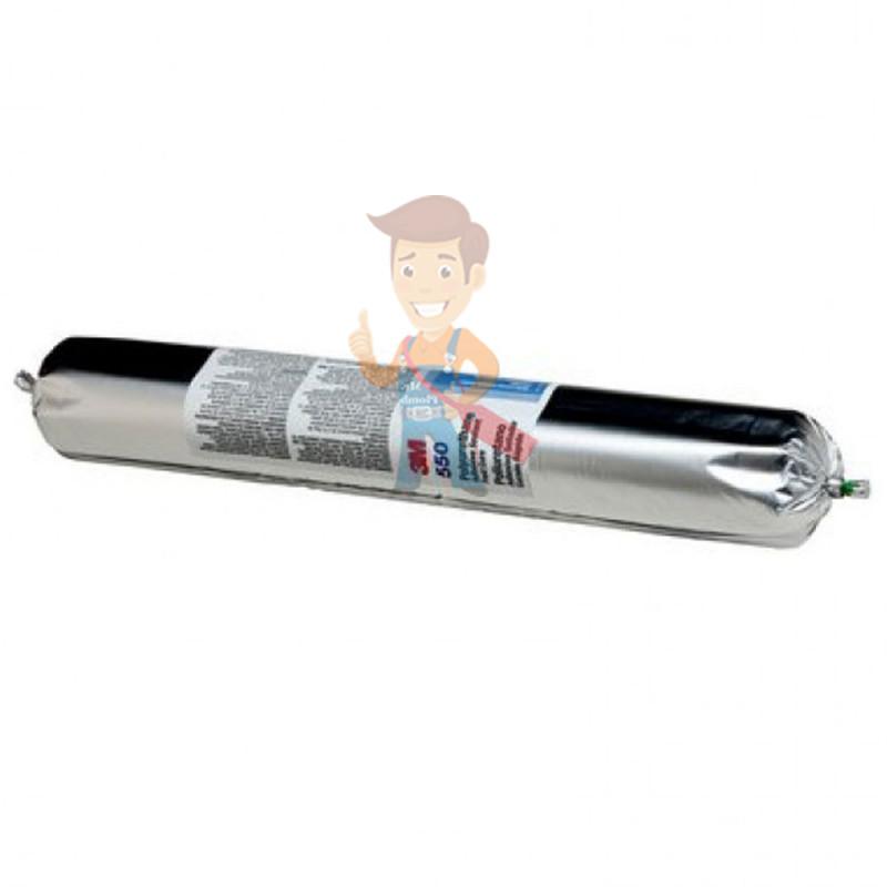 Клей-герметик полиуретановый 3M 550FC, однокомпонентный, серый, 600 мл