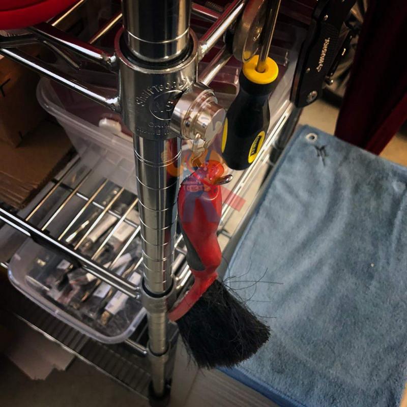 Магнитное крепление с поворотным крючком 36 мм - фото 6