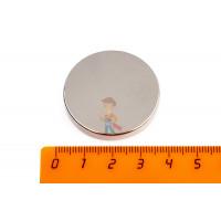 Магнитная застежка 18х2 мм с ПВХ - Неодимовый магнит диск 35х5 мм
