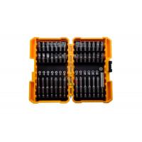 Брелок - портативная отвертка с фонарем, 4 биты - Набор бит для ударного шуруповерта с магнитным держателем бит в кейсе, 42 предмета