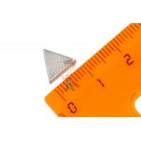 Магнитное крепление с отверстием А25 - Неодимовый магнит треугольник 10х10х4 мм
