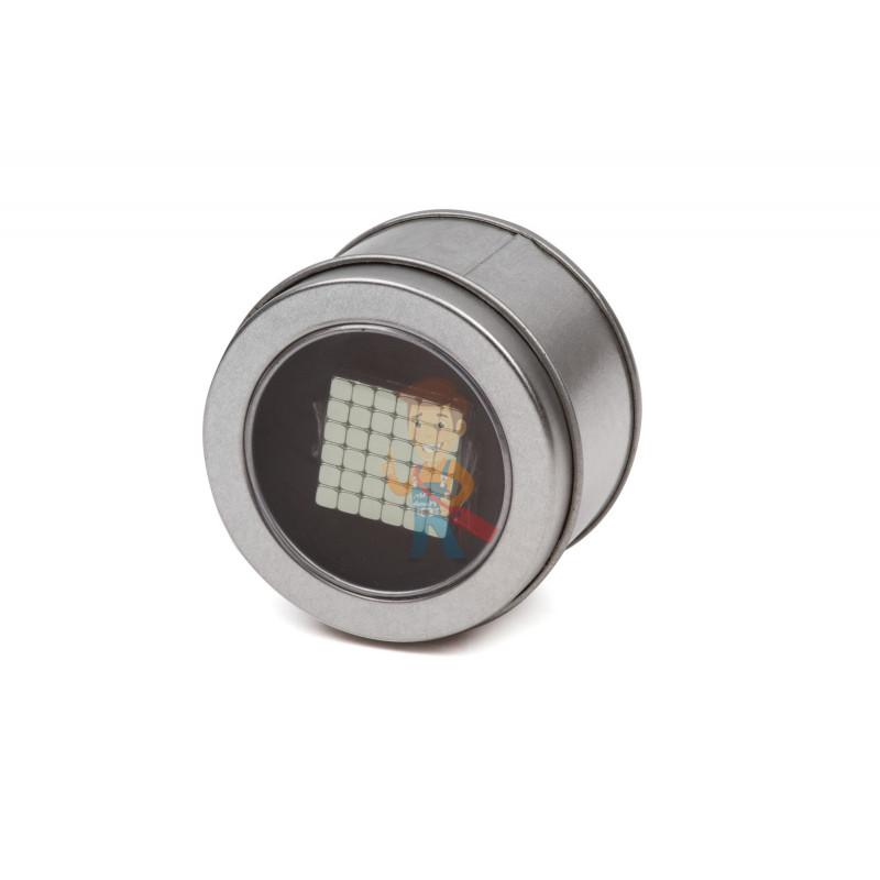 Forceberg TetraCube - куб из магнитных кубиков 6 мм, жемчужный, 216 элементов - фото 6