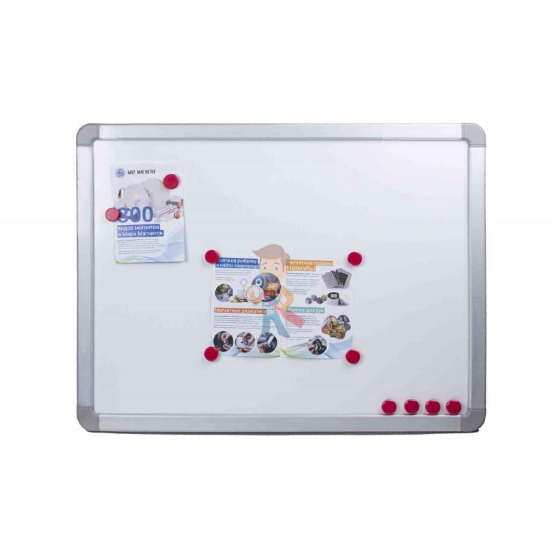 Магнит для магнитной доски FORCEBERG 20 мм, красный, 10шт. - фото 4