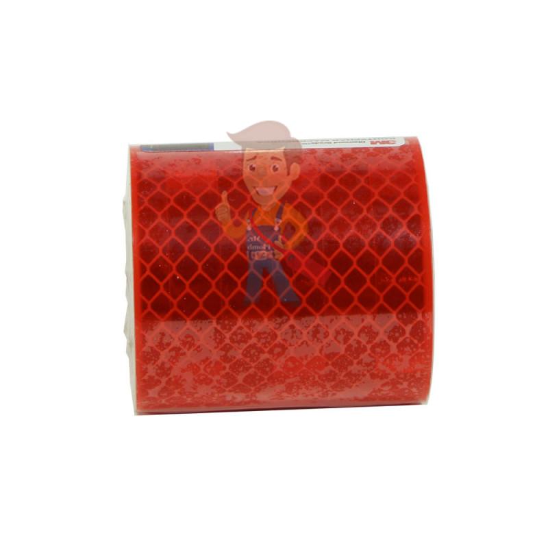 Лента светоотражающая 3M 983-72, алмазного типа, красная, 53,5 мм х 2,5 м - фото 4