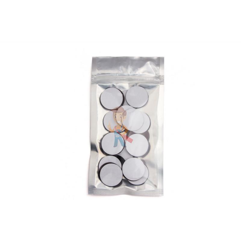 Магнитные виниловые наклейки Forceberg D3 см, 50 шт - фото 4