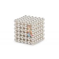 Forceberg Cube - куб из магнитных шариков 5 мм, оранжевый, 216 элементов - Forceberg Cube - куб из магнитных шариков 6 мм, жемчужный, 216 элементов