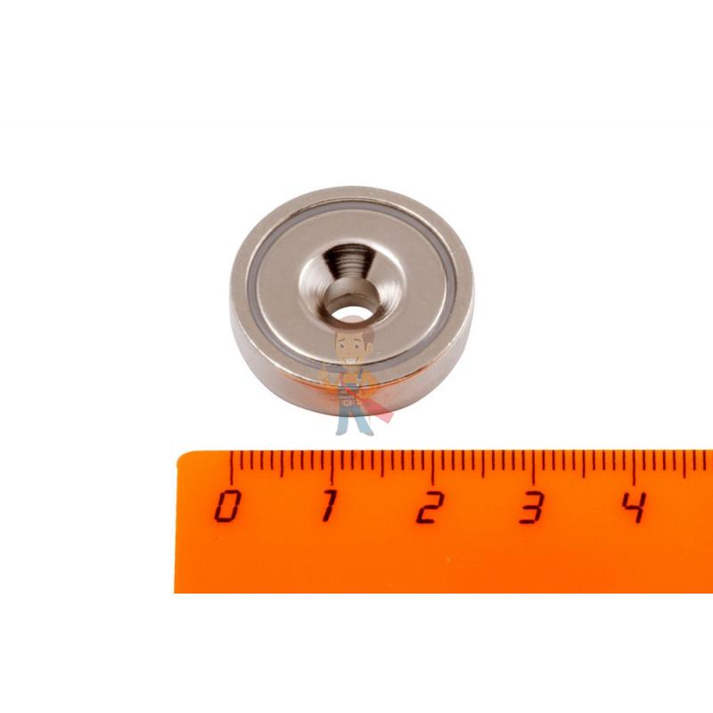 Магнитное крепление с отверстием А25 - фото 1