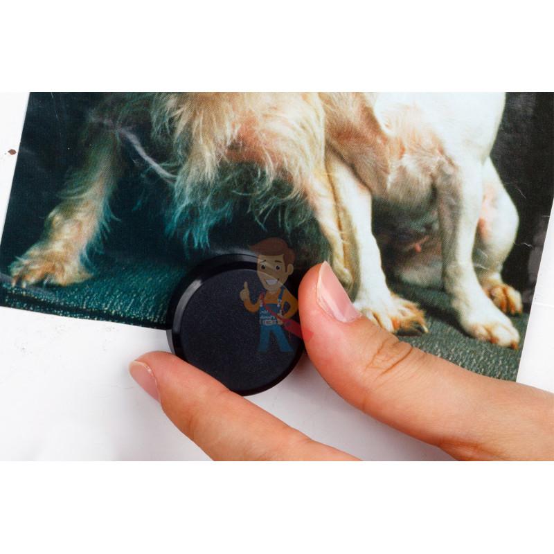 Магнит для магнитной доски Forceberg 30 мм, черный, 10шт. - фото 4