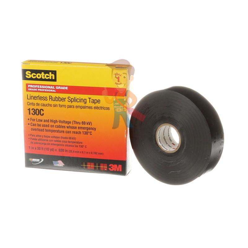 Изолента самослипающаяся резиновая Scotch® 130C, 25 мм х 9,1 м - фото 2