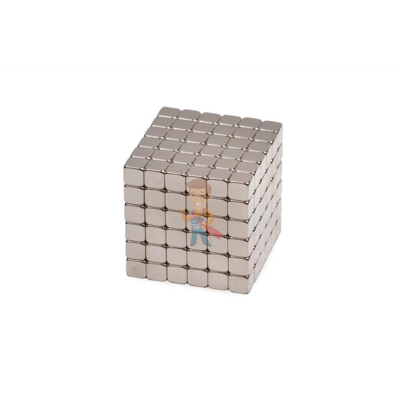Forceberg TetraCube - куб из магнитных кубиков 5 мм, стальной, 216 элементов