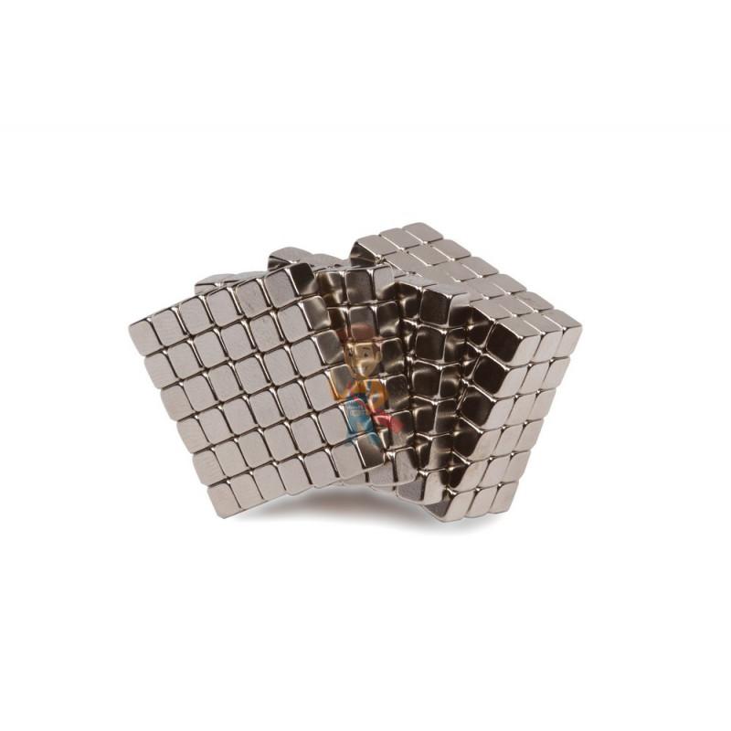 Forceberg TetraCube - куб из магнитных кубиков 5 мм, стальной, 216 элементов - фото 1
